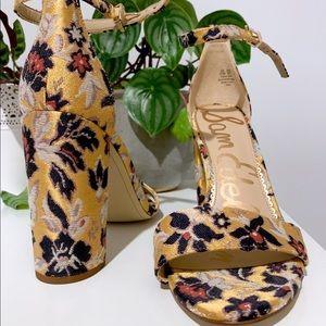 NWT Yaro Floral Sam Edelman heels